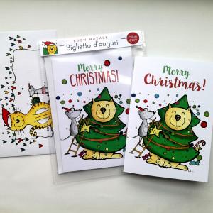 biglietti d'auguri natalizi solidali