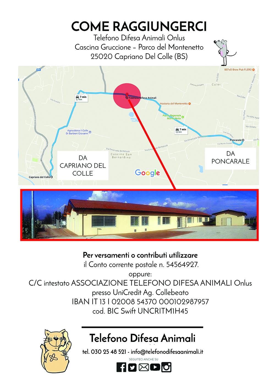Gattile di Capriano del Colle - Brescia - Come raggiungerci