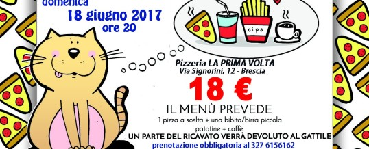 18 giugno 2017: Pizza Party!