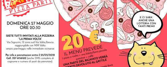 27 maggio 2018: Pizza Party!