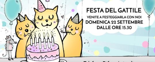 Festa del Gattile – 22 settembre 2019